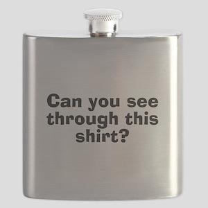 CanYouSeeThroughThisShirt Flask