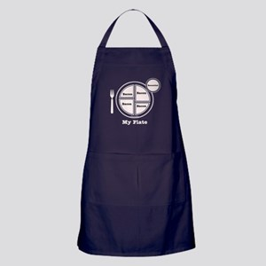 Bacon My Plate Apron (dark)