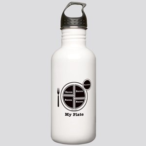 Bacon My Plate Stainless Water Bottle 1.0L