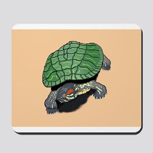 Powered By Turtles Mousepad