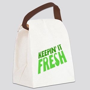 Keepin It Fresh Canvas Lunch Bag