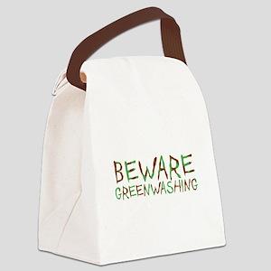 Beware Greenwashing Canvas Lunch Bag