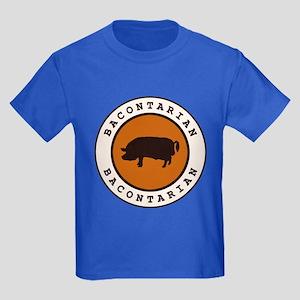 Bacontarian Kids Dark T-Shirt