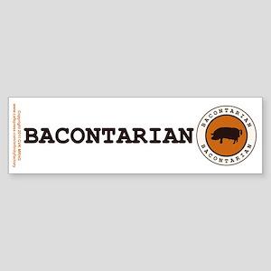 Bacontarian Sticker (Bumper)