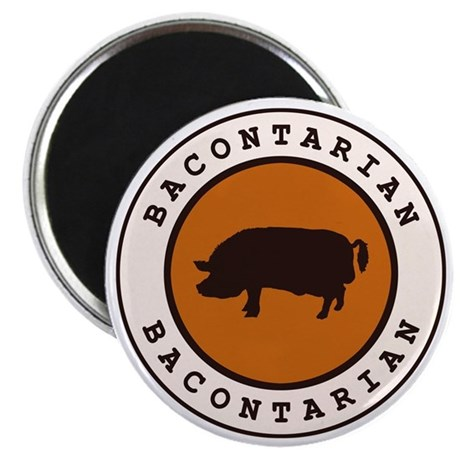 "Bacontarian 2.25"" Magnet (10 pack)"