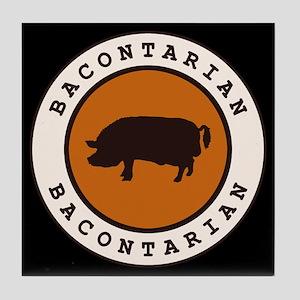 Bacontarian Tile Coaster