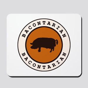 Bacontarian Mousepad
