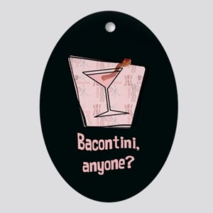 Bacontini Anyone ? Ornament (Oval)