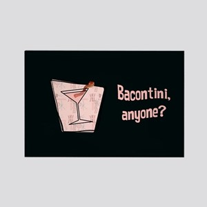 Bacontini Anyone ? Rectangle Magnet