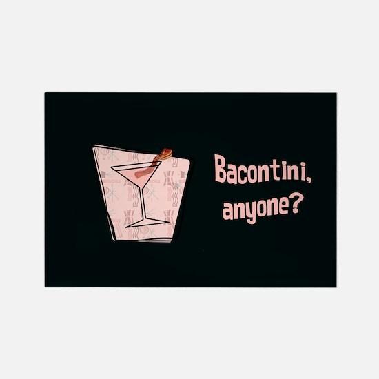 Bacontini Anyone ? Rectangle Magnet