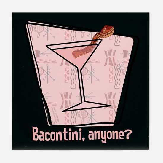 Bacontini Anyone ? Tile Coaster