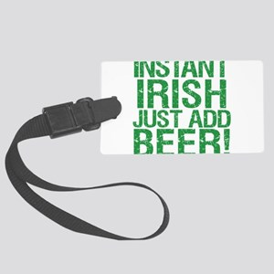 InstantIrish2012 Large Luggage Tag