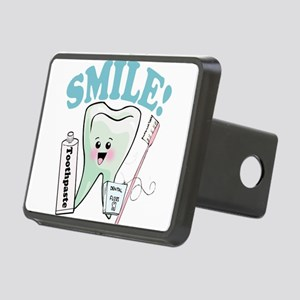 77492056384smile Rectangular Hitch Cover