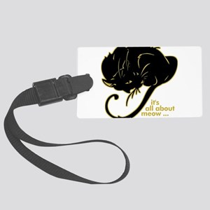 allaboutmeow Large Luggage Tag