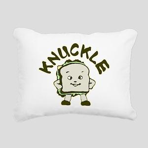 knuckle Rectangular Canvas Pillow