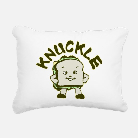 knuckle.png Rectangular Canvas Pillow
