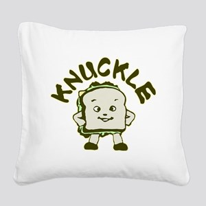 knuckle Square Canvas Pillow