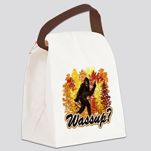 Bigfoot Whats Up Canvas Lunch Bag