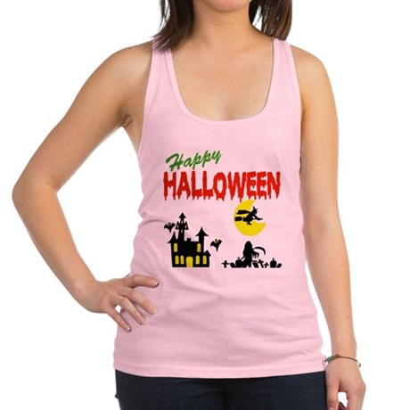 halloween witch Racerback Tank Top