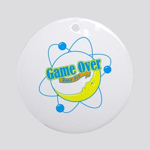 Big Bang Theory (Game Over) Ornament (Round)