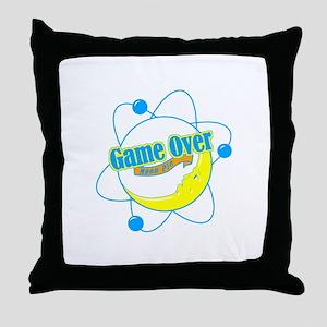 Big Bang Theory (Game Over) Throw Pillow