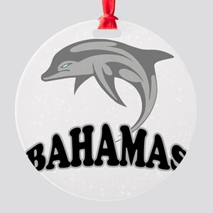 Bahamas Template Round Ornament