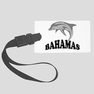 Bahamas Template Large Luggage Tag