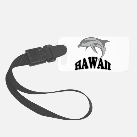 Hawaii Dolphin.png Luggage Tag