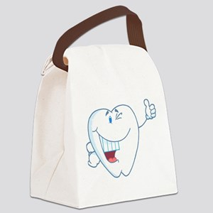 Tooth-Dentistry Canvas Lunch Bag