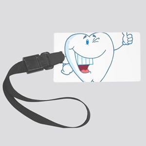 Tooth-Dentistry Large Luggage Tag