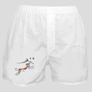 Ibzian Hound Butterflies Boxer Shorts