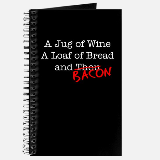 Bacon A Jug of Wine Journal