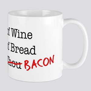 Bacon A Jug of Wine Mug