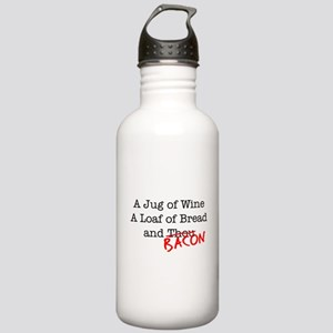 Bacon A Jug of Wine Stainless Water Bottle 1.0L