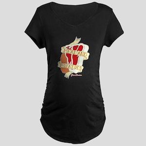 Meat and Potatoes Maternity Dark T-Shirt