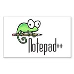 logo_new_big Sticker (Rectangle 50 pk)