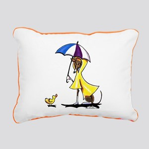 Italian Greyhound Raincoat Rectangular Canvas Pill
