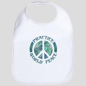 Practice World Peace Bib