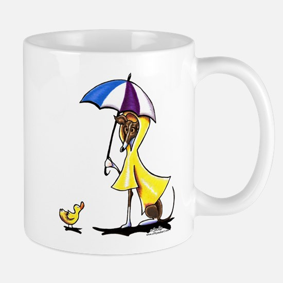 Italian Greyhound Raincoat Mug