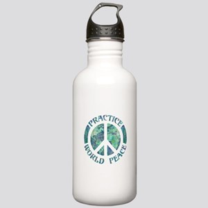 Practice World Peace Stainless Water Bottle 1.0L