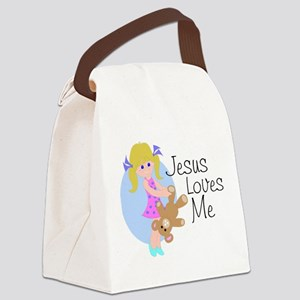 lovesme Canvas Lunch Bag