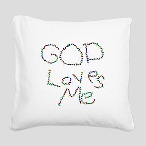 godloves Square Canvas Pillow