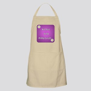 Nail Artist by day Mommy by night Apron