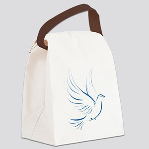 dove2 Canvas Lunch Bag