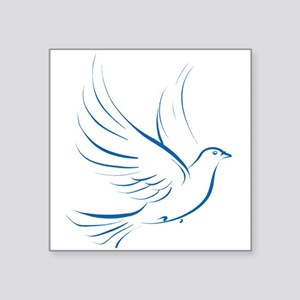 "dove2 Square Sticker 3"" x 3"""