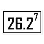 2627 Sticker (Rectangle 50 pk)