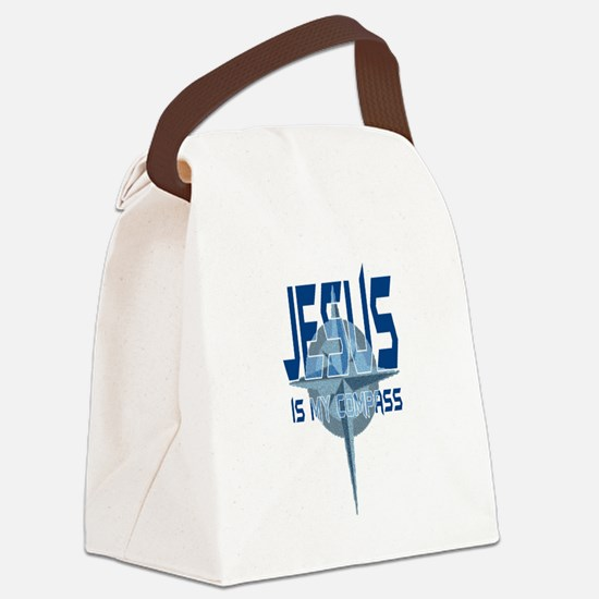 compass2.png Canvas Lunch Bag