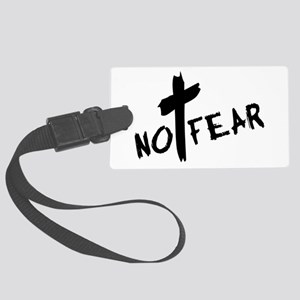nofear3 Large Luggage Tag