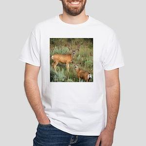 Mule deer velvet White T-Shirt