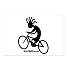 Kokopelli Mountain Biker Postcards (Package of 8)